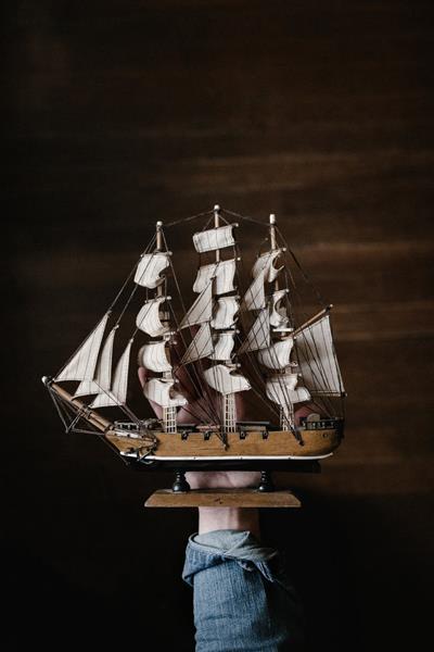 Sailing ship (Full-rigged ship) - model