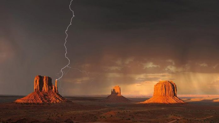 Monument Valley, part of the Colorado Plateau, United States