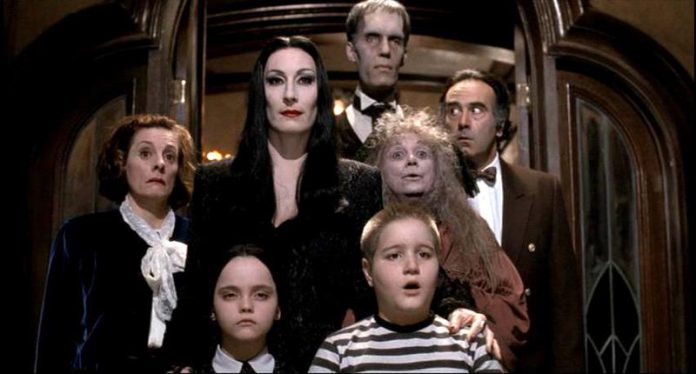 The Addams Family actors