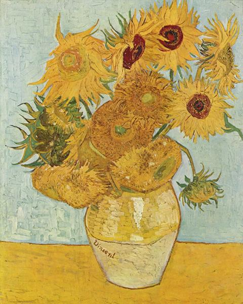 Sunflowers (original title, in French: Tournesols) painting by the Dutch painter Vincent van Gogh