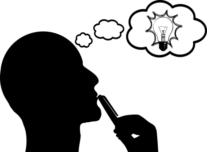 light bulb, thinker quiz4knowledge.com