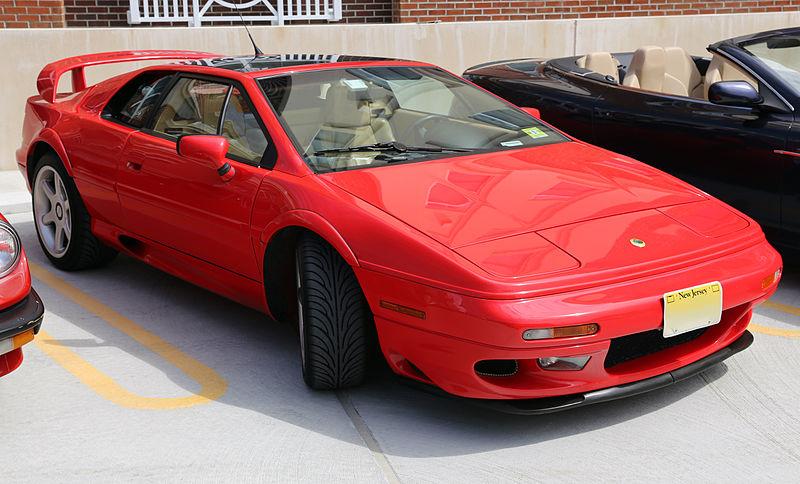 Lotus Esprit V8 type 918-red-supercar-quiz cars