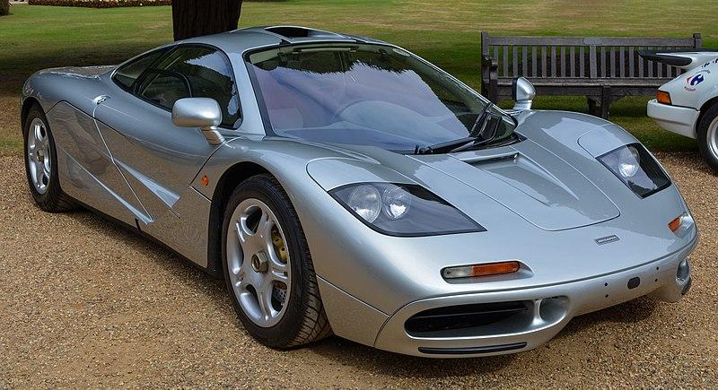 McLaren F1-three-seat supercar-exotic car