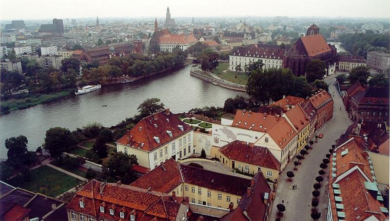 Wrocław-Oder River-Venice of Poland-Breslau